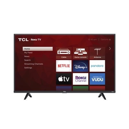 "TCL 43"" Class 4-Series 4K UHD HDR Roku Smart TV - 43S431"