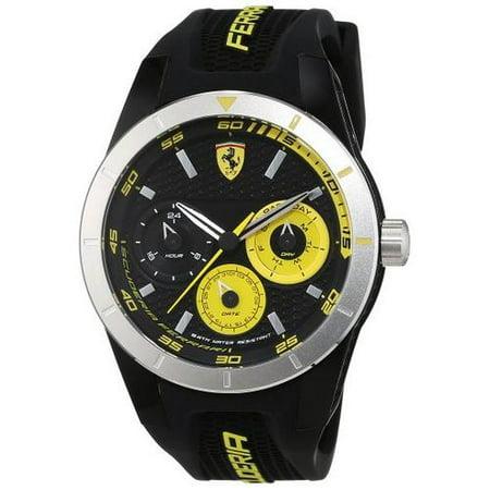 Ferrari Scuderia Redrev Silicone Mens Watch 0830257