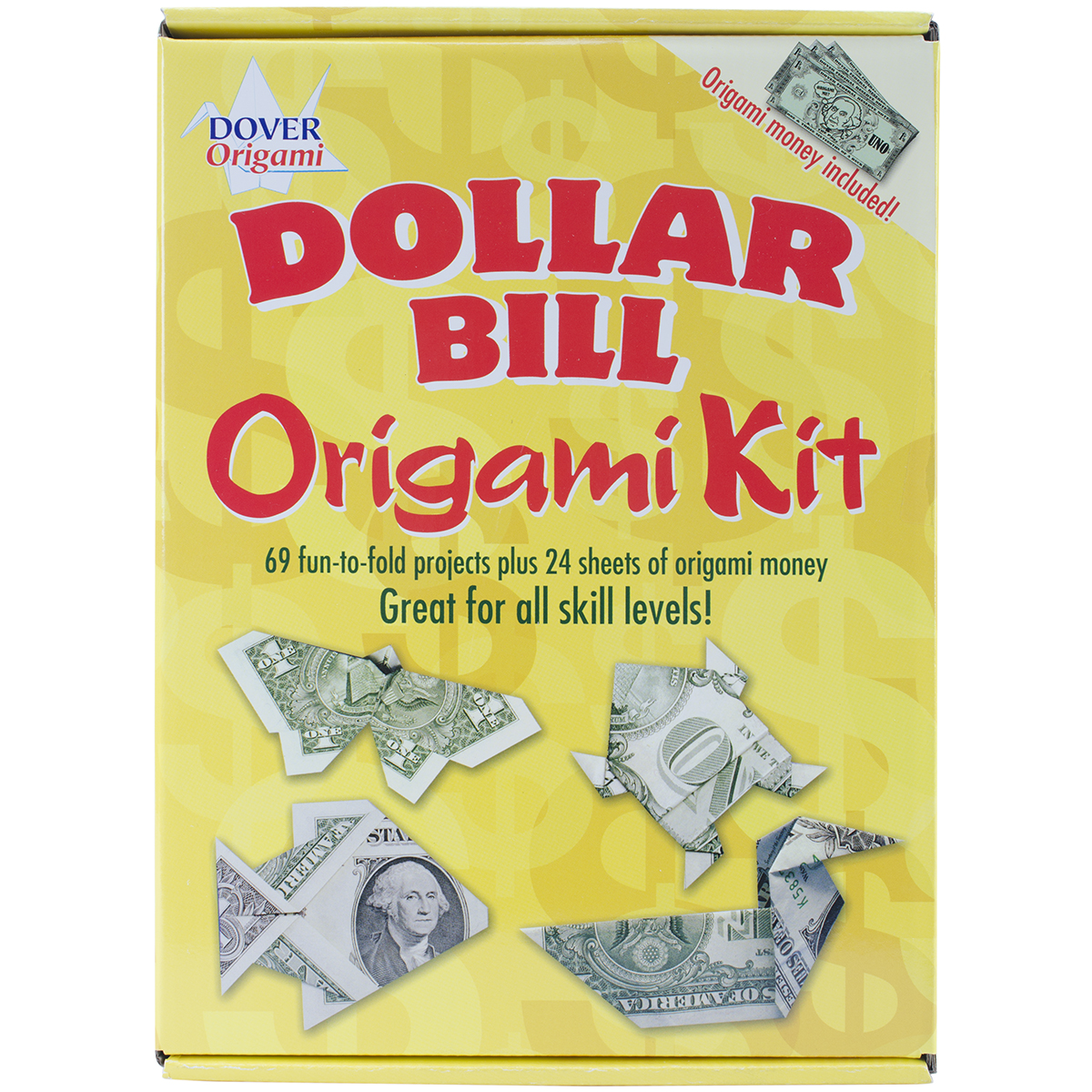 Dover Publications Dollar Bill Origami Kit