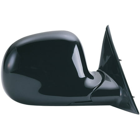 62007G - Fit System Passenger Side Mirror for 95-98 Chevy Blazer/ GMC Jimmy/ Olds Bravada, 94-97 S10/Sonoma Pick-up, black, foldaway, Manual