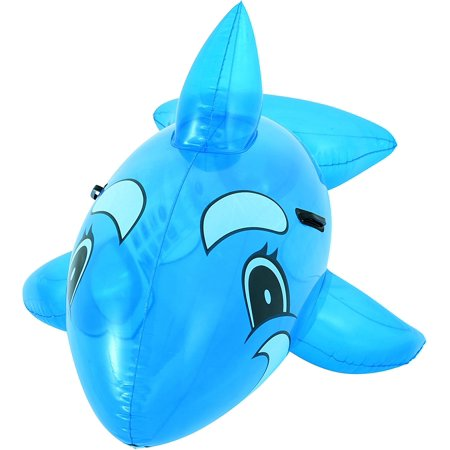 H2OGO! Whale Rider Inflatable Pool Float, Heavy Duty Handles By Bestway Toys (Best Way To Hang Heavy Items On Drywall)