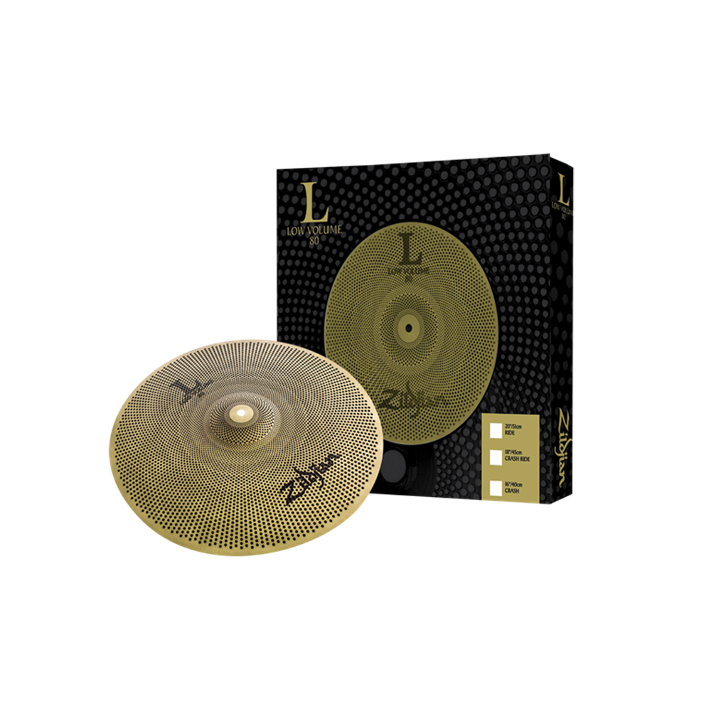 "Zildjian L80 Low Volume 16"" Crash Cymbal"