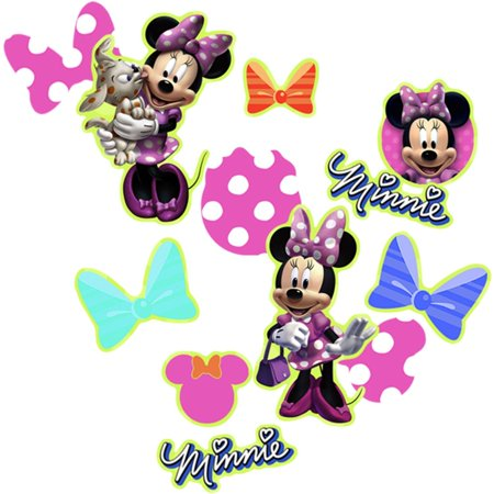 Minnie Mouse Bows Confetti - Each By KidsPartyWorldcom](Minnie Mouse Confetti)