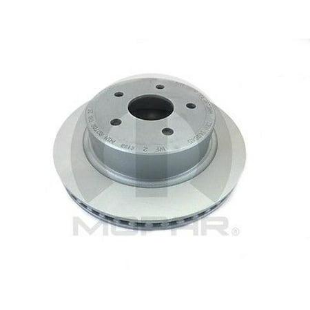 Disc Brake Rotor Rear MOPAR 5290345AB fits 04-06 Dodge Ram 1500