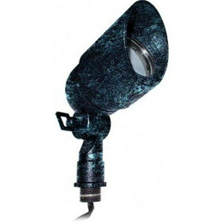 Dabmar Lighting LV133-LED7-VG 7W & 12V LED MR16 Cast Aluminum Spot Light with Rotatable Hood - Verde Green - image 1 of 1