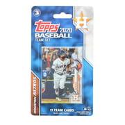 Houston Astros 2020 Topps MLB Baseball Team Set | 17 Team Cards