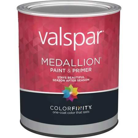 Valspar Medallion 100% Acrylic Paint & Primer Flat Exterior House - Valspar Medallion