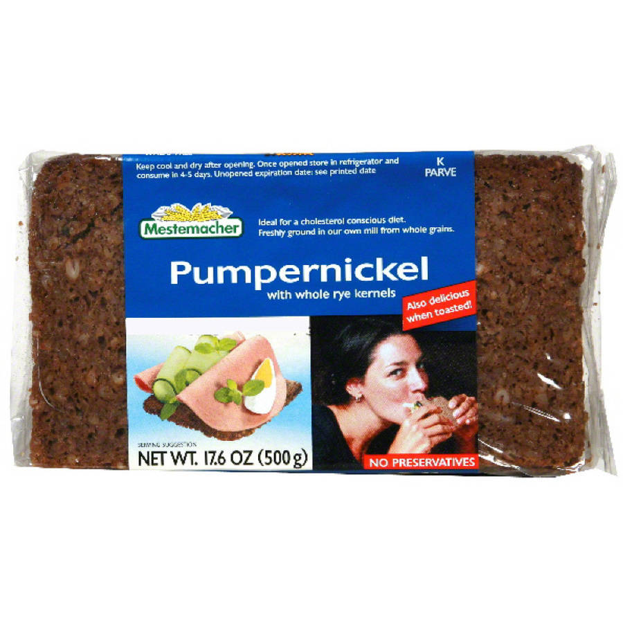 Mestemacher Pumpernickel Bread, 17.6 oz (Pack of 12)