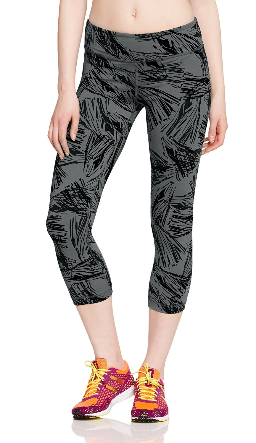 NWT Women's Zumba Fitness Damen WB Let's Tassel Capri Pants Z1B00262 Leggings by Zumba