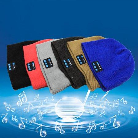 6146a208384 Generic Bluetooth Beanie Smart Winter Knit Hat V4.1Wireless Musical  Headphones Earphones 2 Speakers Beanies ...