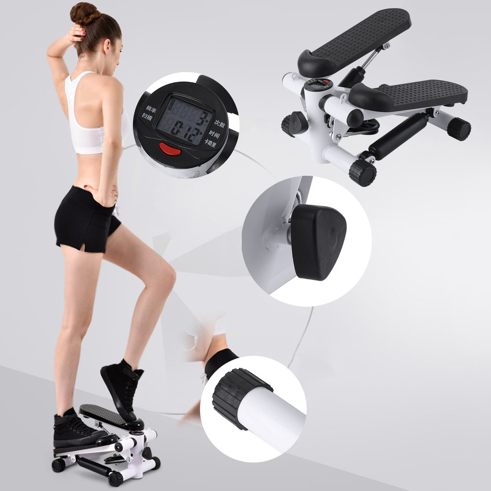 Household Multifunction Aerobic Fitness Step Air Stair Climber Stepper Exercise Machine Equipment Mini Treadmill