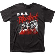 d.o.a. punk rock band music group bloodied but unbowed adult t-shirt tee