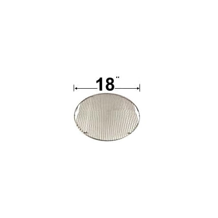 Modern Hom Products CG87SS Stainless Steel Cooking Grid Replacement for Gas Grill Model Big Green Egg Large ()