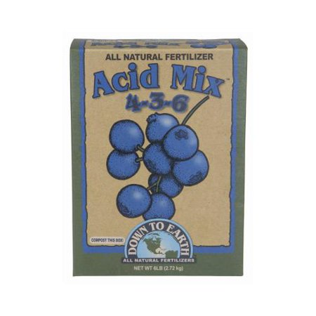 Down To Earth Acid Mix   6 Lb