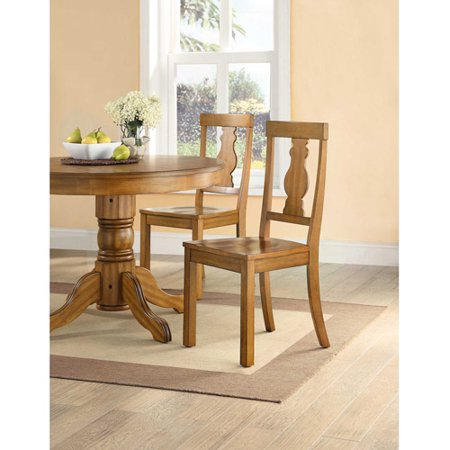 Better Homes And Gardens Cambridge Place Dining Chairs Set Of 2 Honey