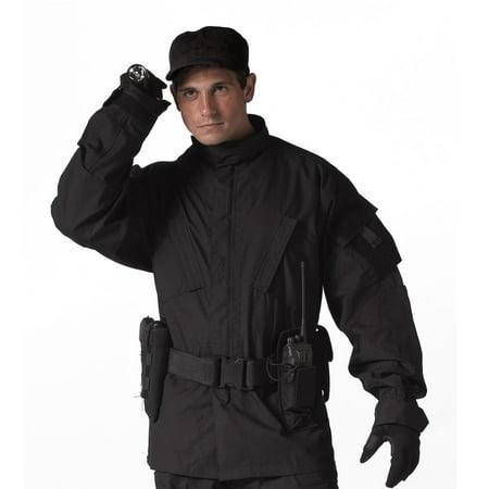 Tactical Black ACU Style Uniform Shirt for SWAT (Swat Uniform)