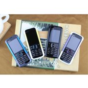 Ultra-thin straight card button old man student spare mobile phone