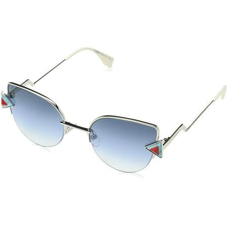 fendi rainbow cat eye sunglasses ff0242s scb ne (Fendi Cat Eye Sunglasses)