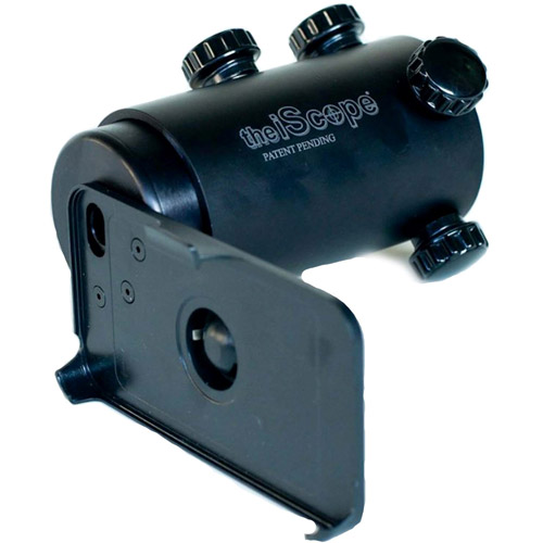 iPhone 4 Iscope smartphone scope adapter, black