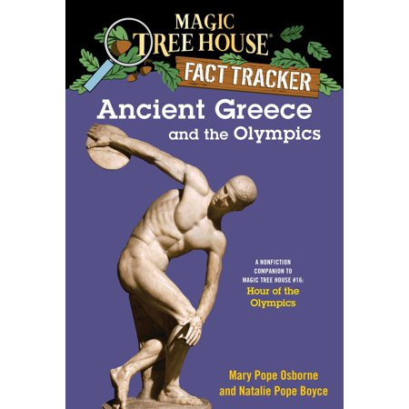 Ancient Greece and the Olympics : A Nonfiction Companion to Magic Tree House #16: Hour of the Olympics - Magic Johnson Olympics
