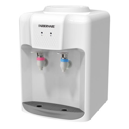 Farberware FW-WD211 3-5 Gallon Countertop Hot and Cold Water Cooler Dispenser, (Hot Cup Water Dispenser Best Price)