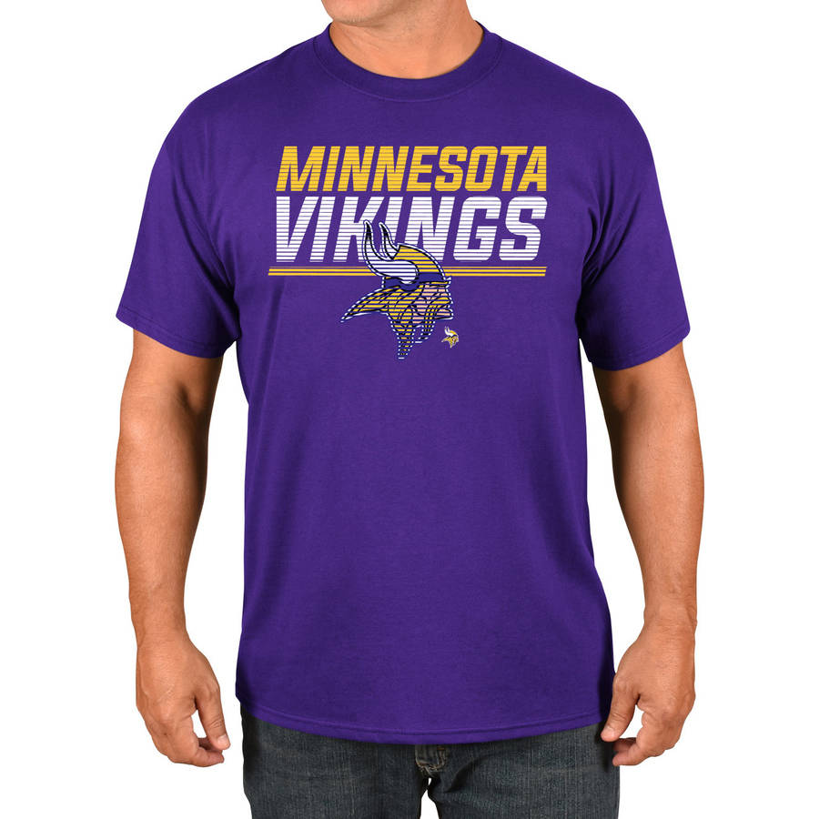 NFL Minnesota Vikings Big Men's Basic Tee