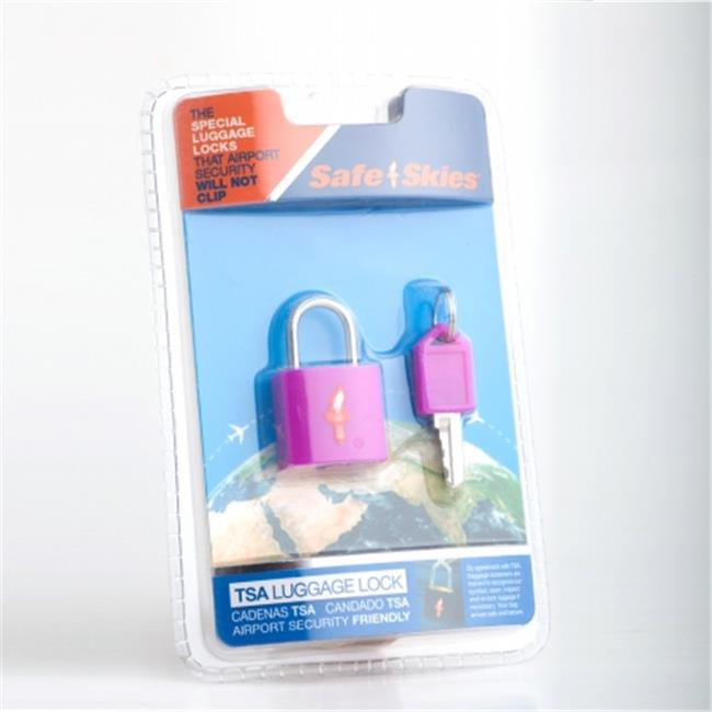 Safe Skies No. 206b TSA-Approved padlock single-pack - Grape Juice