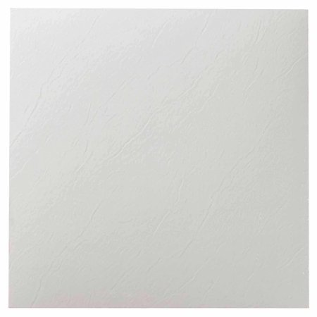Nexus White 12 Quot X 12 Quot Self Adhesive Vinyl Floor Tile