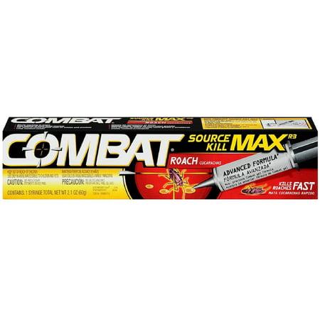 Combat Roach Gel (2 Pack - Combat Source Kill Max Roach Killing Gel Syringe 2.10)