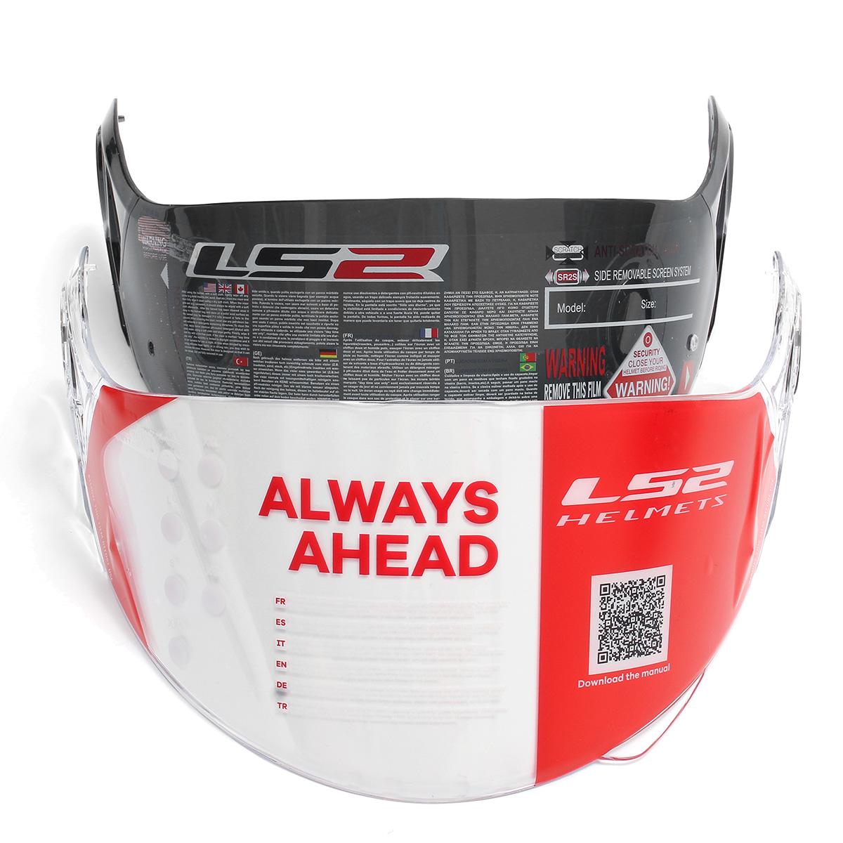 Motorcycle Wind Shields Helmet Visor Wind Lens for LS2 Helmet FF370 FF386 Visors