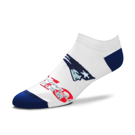 New England Patriots For Bare Feet Women's Super Bowl LIII Champions Ankle Sock - White - M