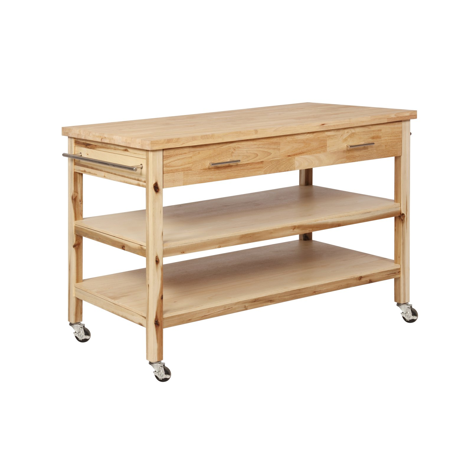 Powell Lovett Kitchen Cart, Natural