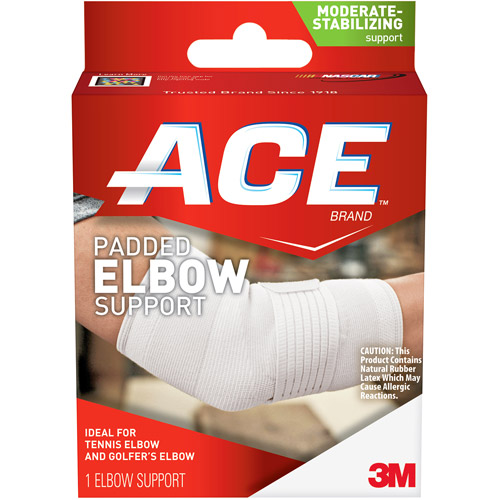 ACE Padded Elbow Support, L, 209613