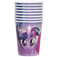 9oz Paper My Little Pony Cups, 8ct