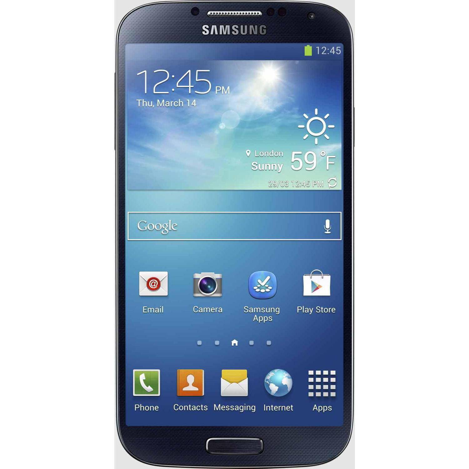 AT&T Samsung Galaxy S4 6060A GSM Android Smartphone Locked (AT&T), Black