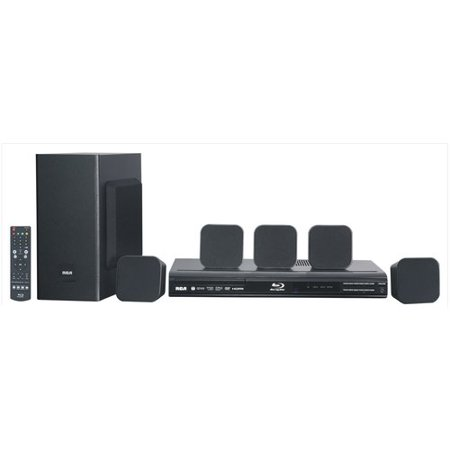 RCA RTB10323LW Home Theater System with Blu-ray Player