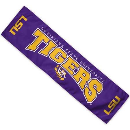LSU Tigers Official NCAA 8 inch  x 30 inch  Cooling Towel by Wincraft