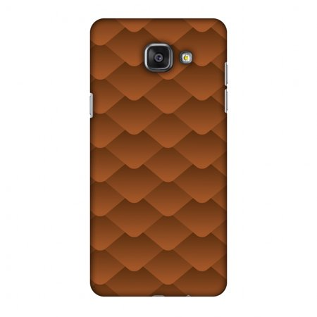 Samsung Galaxy A5 2016 Case, Premium Handcrafted Printed Designer Hard ShockProof Case Back Cover with Screen Cleaning Kit for Samsung Galaxy A5 2016 - Carbon Fibre Redux Desert Sand 11