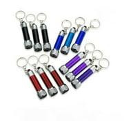 LWS LA Wholesale Store  10 Portable Mini Flashlights Light Torch Keychain KeyRing Key Chain BRIGHT