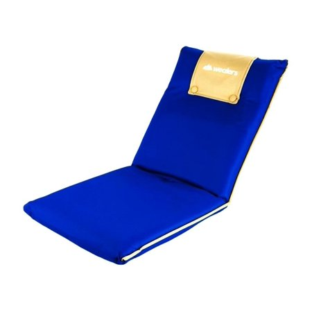 Wealers Portable Foldable Padded Comfortable Recliner Seat For Camping Or A Beach Chair With