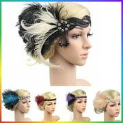 Headbpiece 1920s Headband Flapper Great Gatsby Handband Flapper Accessories