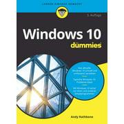 Windows 10 fr Dummies - eBook