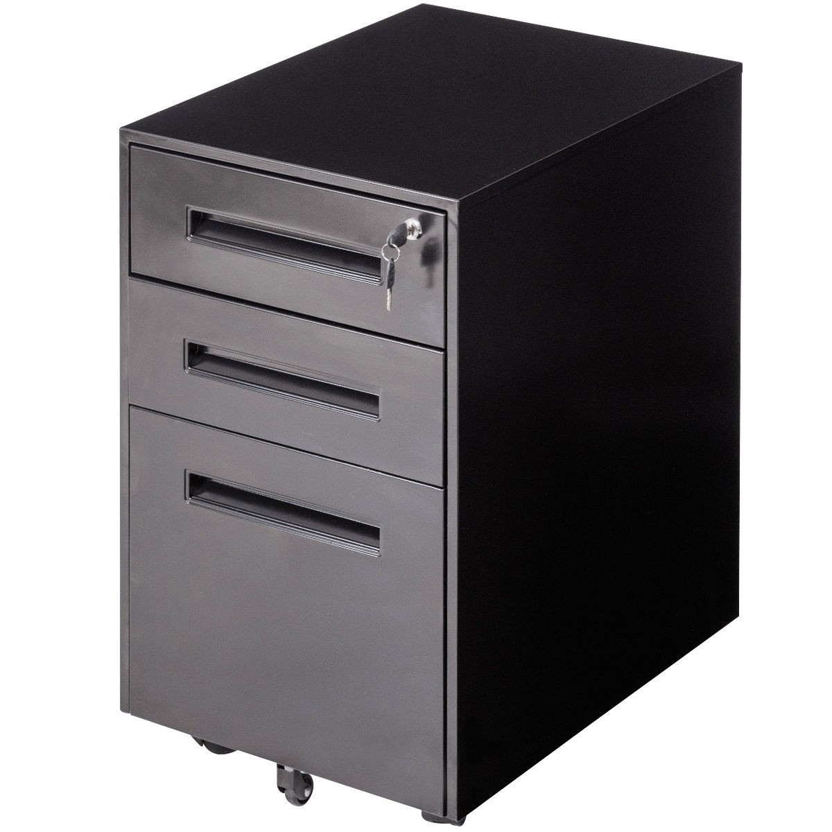 drawers for kitchen cabinets metal rolling sliding drawer a4 file cabinet black 6957