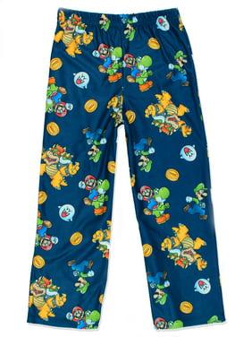 Product Image Super Mario Boy s Flannel Lounge Pajama Pants (Little Kid Big  Kid) 21NE120BPT e2b08a790