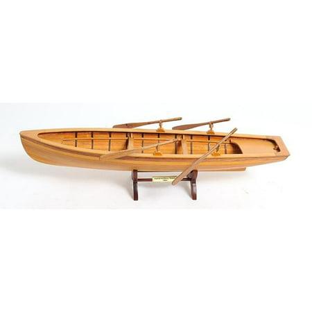 Model Boat Boston Whitehall Tender Canoe Wood New Plank-on-Frame Constructi OM-1