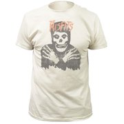 Misfits Men's Distressed Classic Skull Slim Fit T-shirt Medium Vintage