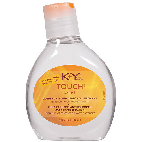 K-Y Brand 2-In-1 Warming Oil & Personal Lubricant, 5 oz