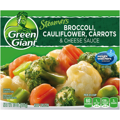 Green Giant Broccoli, Cauliflower, Carrots & Cheese Sauce Vegetables, 10 oz