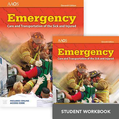 Workbook Orange Cover (Emergency Care and Transportation of the Sick and Injured Includes Navigate 2 Essentials Access + Emergency Care and Transportation of the Sick and Injured Student)