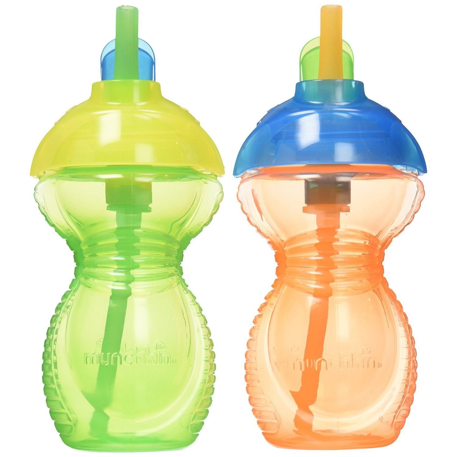 Munchkin Click Lock Flip Straw Cup 9oz, 2 pk - Assorted Colors